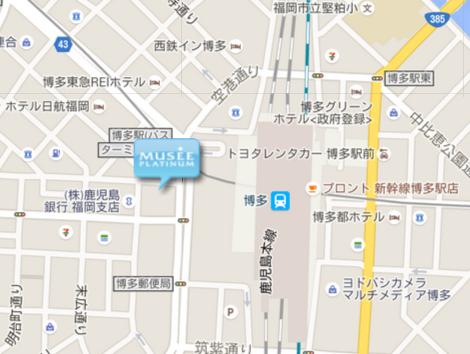 myuze地図